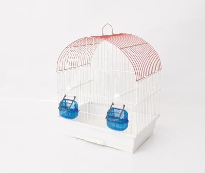 Клетка за птици 36/28/42 см - объл покрив