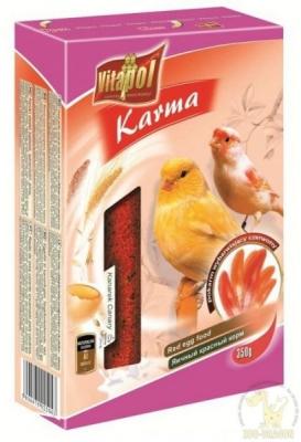 Vitapol Яйчена храна червена 350 грама за канари