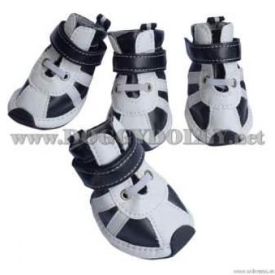 """Обувки """"Black stripe white shoes"""""""