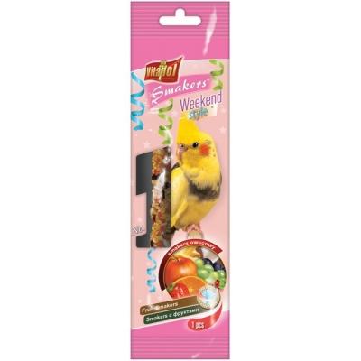 Smakers weekend Крекер за средни папагали 1бр/45гр