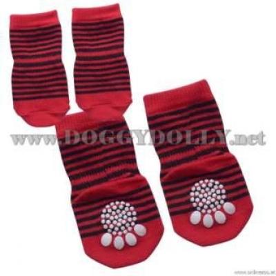 """Чорапи """"Red strip"""""""