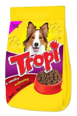 Tropi - Говеждо 3 кг