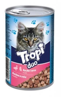 Tropi Duo Cat 415 гр патешко/сърца