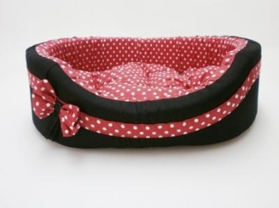Легло плат - Vintage с червена панделка