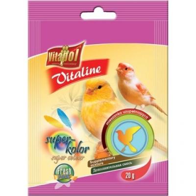 Vitaline Витамини за канари за оцветяване 20гр