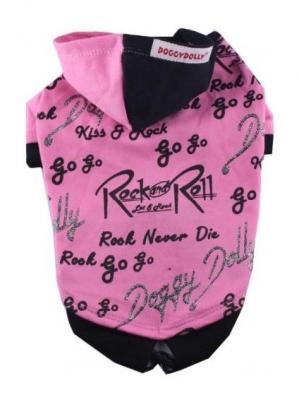 Дрешка с качулка Rock&Rolls pink