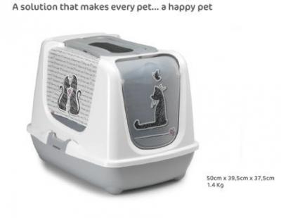 Тоалетна закрита Trendy Cats in Love 50 см